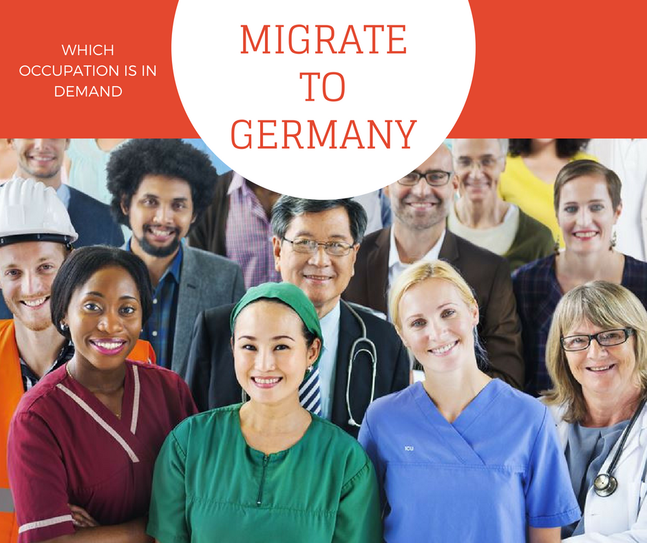 Germany : Which occupations are in demand?